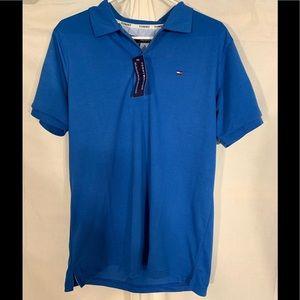 Tommy Hilfiger polo shirt. Blue. Large